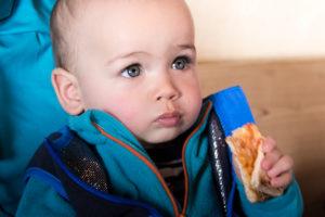 Альта Бадиа с 9тимесячным ребенком. Ресторан Лас-Вегас