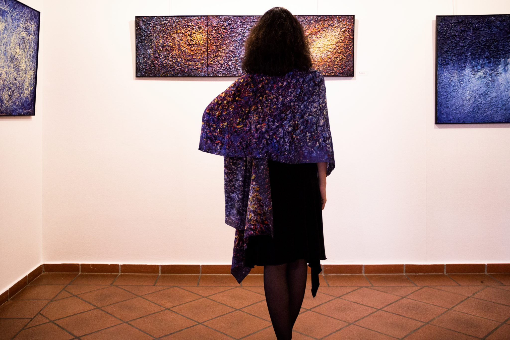 Art on Scarf - Scarfs in the Museum2