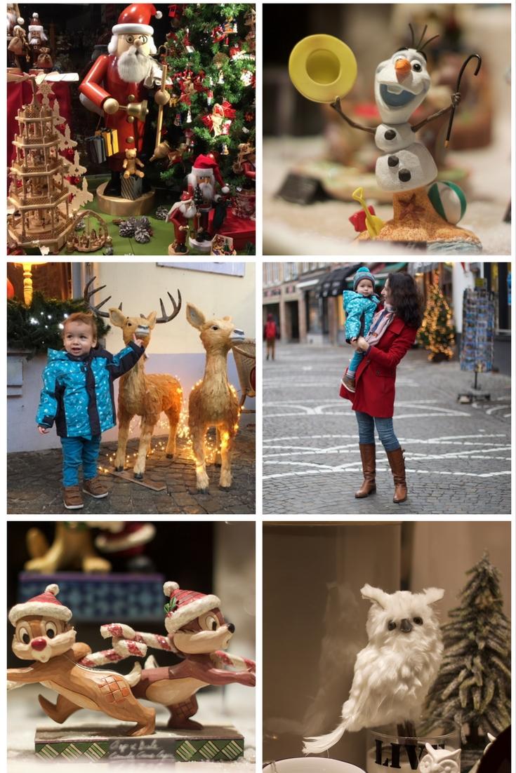 Сказочные города для создания Рождественского настроения. Боюгге. Рождественские декорации и витрины