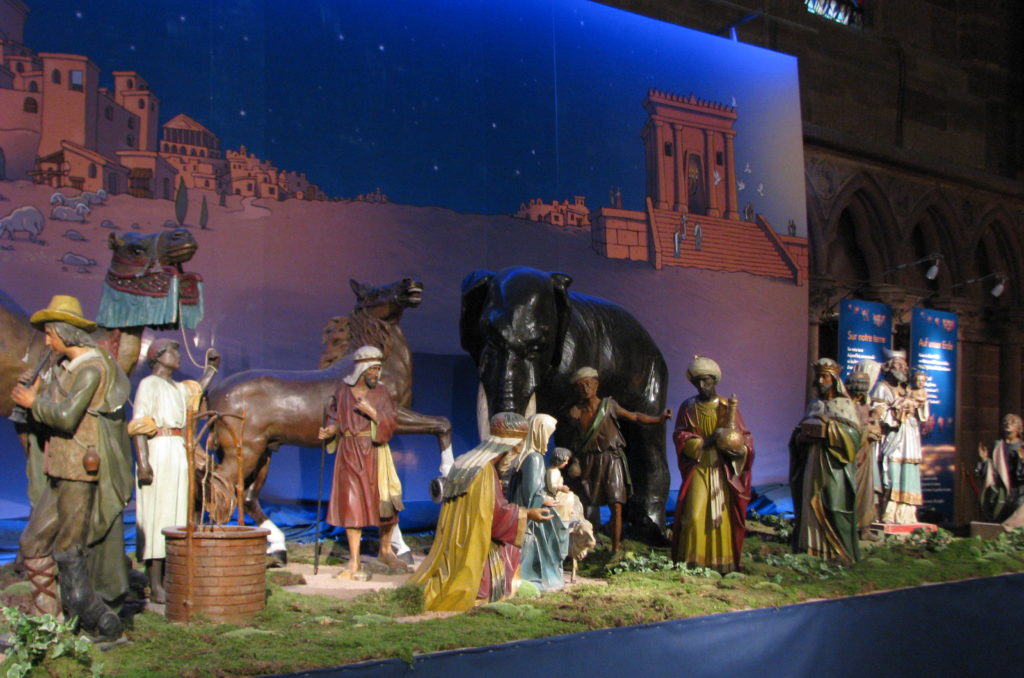 Little Buddha - Strasbourg at Christmas - Nativity Scene