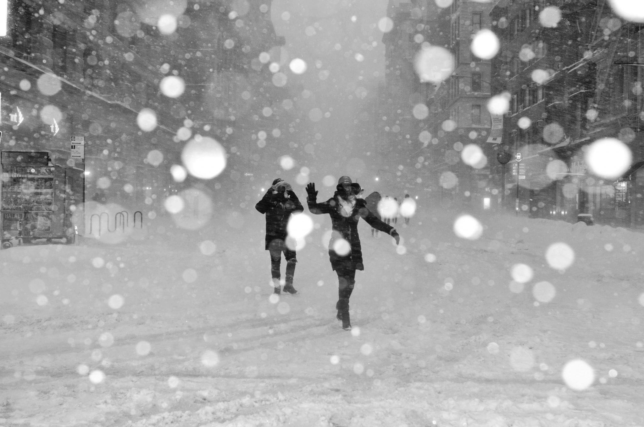 Снежный поцелуй. Короткий рассказ